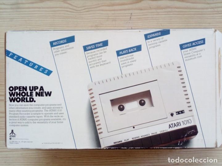 Videojuegos y Consolas: Casete Cassette Atari 1010 Con Caja - Foto 3 - 182790125