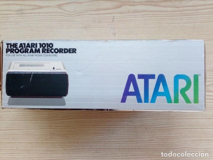 Videojuegos y Consolas: Casete Cassette Atari 1010 Con Caja - Foto 4 - 182790125