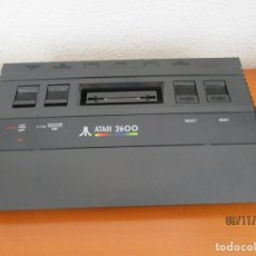 Videojuegos y Consolas: CONSOLA ATARI 2600 NEGRA UNICA EN TC. NO FUNCIONA LEER DESCRIPCION :. Lote 182906096