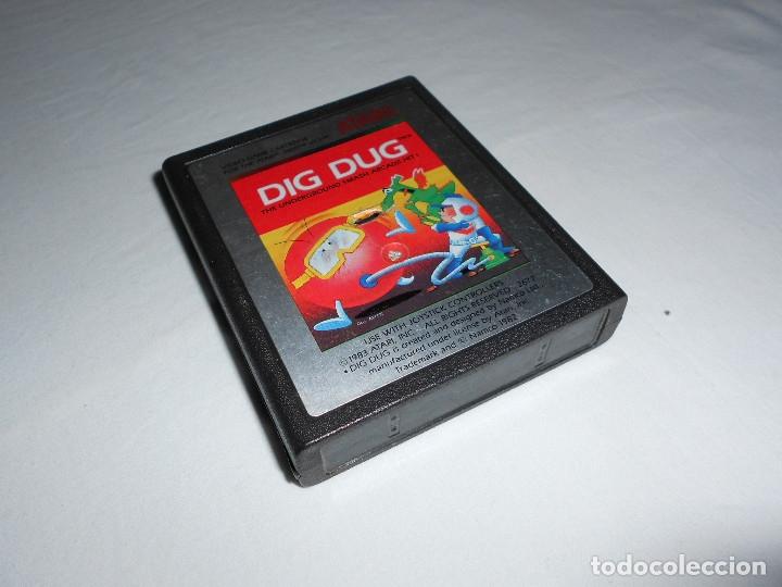 DIG DUG - ATARI 2600 Y COMPATIBLES - JUEGO EN CARTUCHO ORIGINAL (Juguetes - Videojuegos y Consolas - Atari)