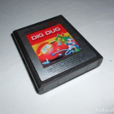 Videojuegos y Consolas: DIG DUG - ATARI 2600 Y COMPATIBLES - JUEGO EN CARTUCHO ORIGINAL. Lote 183007498