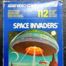 Videojuegos y Consolas: JUEGO ATARI 2600 CON CAJA SPACE INVADERS 1978. Lote 183538530