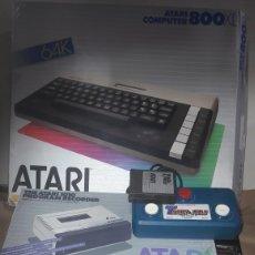 Videojuegos y Consolas: GRAN LOTE ATARI 800 XL 1010 EN CAJA JOYSTICK PROGRAMACIÓN JUEGOS. Lote 183863506