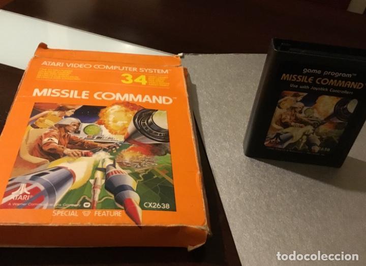 ANTIGUO VIDEOJUEGO MISSILE COMMAND ATARI EN SU CAJA ORIGINAL (Juguetes - Videojuegos y Consolas - Atari)