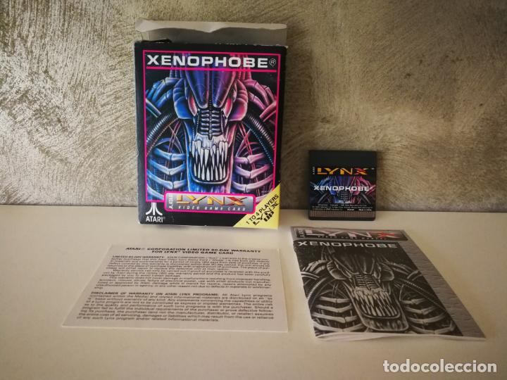 XENOPHOBE ATARI LYNX EN CAJA Y COMPLETO (Juguetes - Videojuegos y Consolas - Atari)