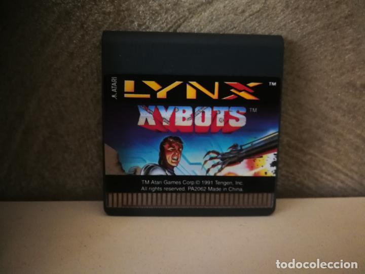 Videojuegos y Consolas: XYBOTS ATARI LYNX EN CAJA Y COMPLETO - Foto 2 - 184107641