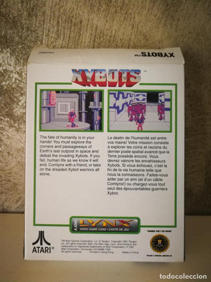 Videojuegos y Consolas: XYBOTS ATARI LYNX EN CAJA Y COMPLETO - Foto 9 - 184107641