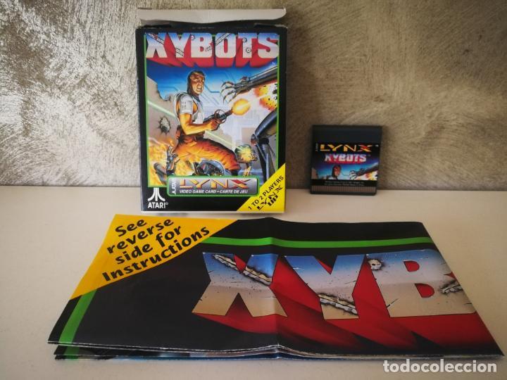 XYBOTS ATARI LYNX EN CAJA Y COMPLETO (Juguetes - Videojuegos y Consolas - Atari)