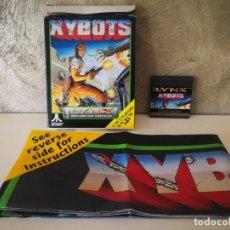 Videojuegos y Consolas: XYBOTS ATARI LYNX EN CAJA Y COMPLETO. Lote 184107641