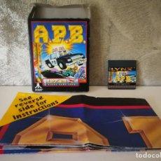 Videojuegos y Consolas: APB ATARI LYNX EN CAJA Y COMPLETO. Lote 184108022