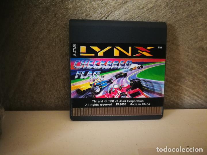 Videojuegos y Consolas: CHECKERED FLAG ATARI LYNX EN CAJA Y COMPLETO - Foto 2 - 184108173