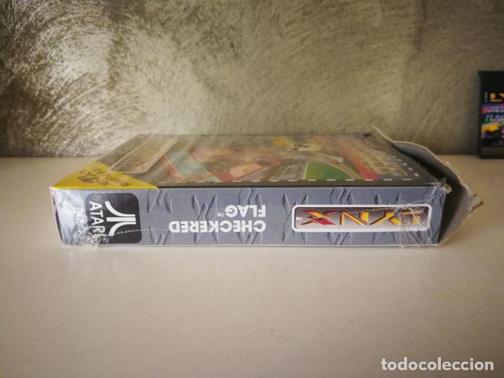 Videojuegos y Consolas: CHECKERED FLAG ATARI LYNX EN CAJA Y COMPLETO - Foto 6 - 184108173