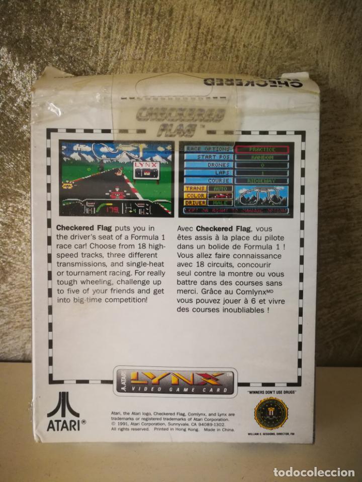 Videojuegos y Consolas: CHECKERED FLAG ATARI LYNX EN CAJA Y COMPLETO - Foto 9 - 184108173