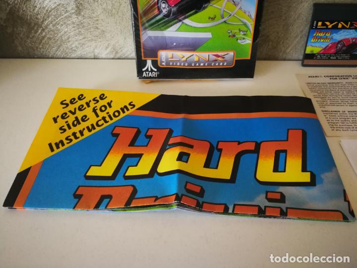 Videojuegos y Consolas: HARD DRIVIN ATARI LYNX EN CAJA Y COMPLETO - Foto 2 - 184108326