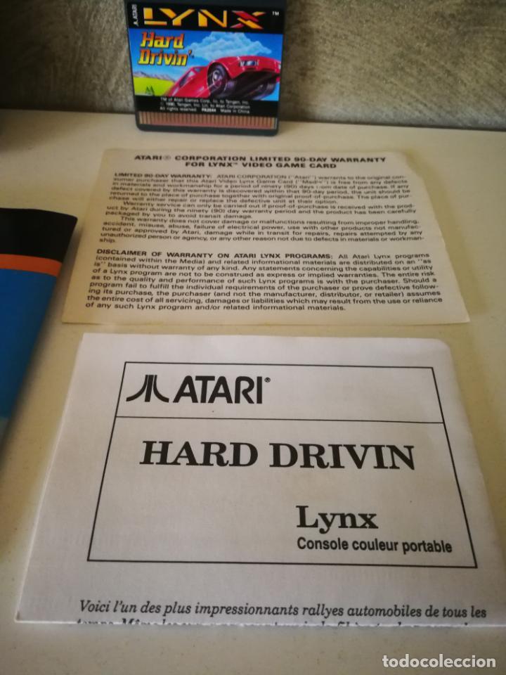 Videojuegos y Consolas: HARD DRIVIN ATARI LYNX EN CAJA Y COMPLETO - Foto 3 - 184108326