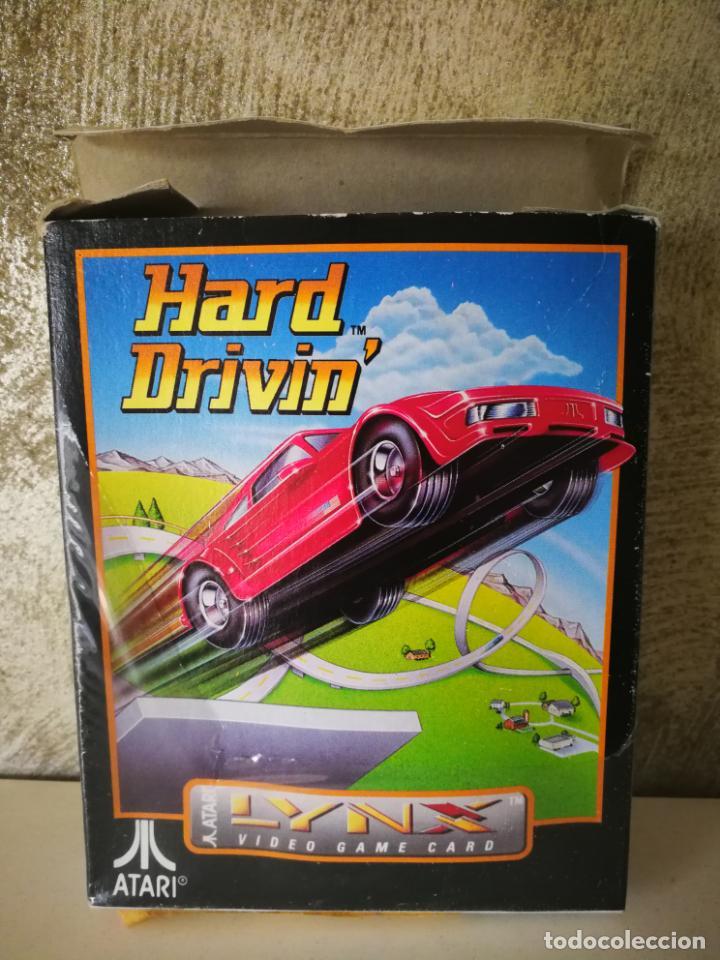 Videojuegos y Consolas: HARD DRIVIN ATARI LYNX EN CAJA Y COMPLETO - Foto 4 - 184108326