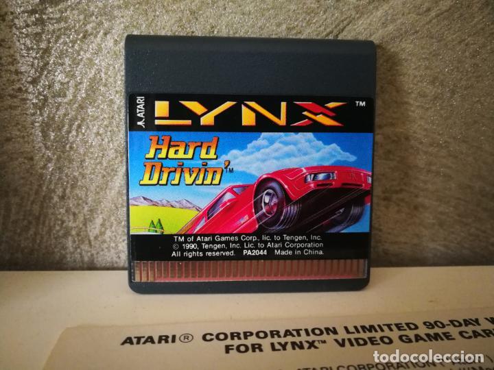 Videojuegos y Consolas: HARD DRIVIN ATARI LYNX EN CAJA Y COMPLETO - Foto 5 - 184108326