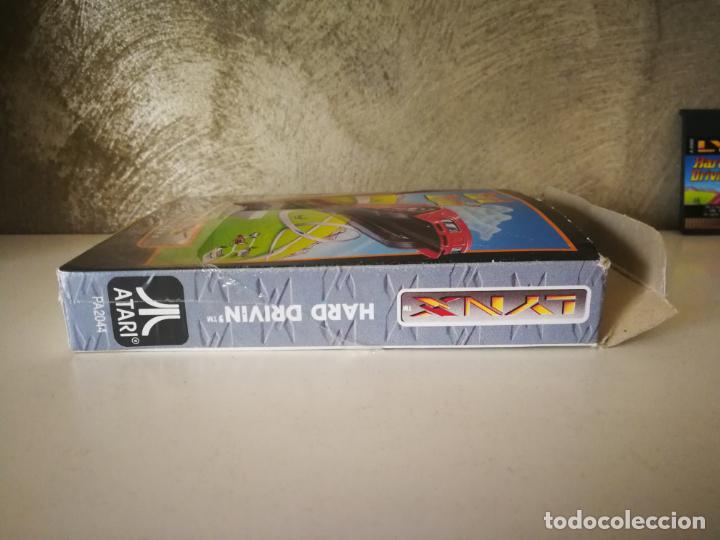 Videojuegos y Consolas: HARD DRIVIN ATARI LYNX EN CAJA Y COMPLETO - Foto 7 - 184108326