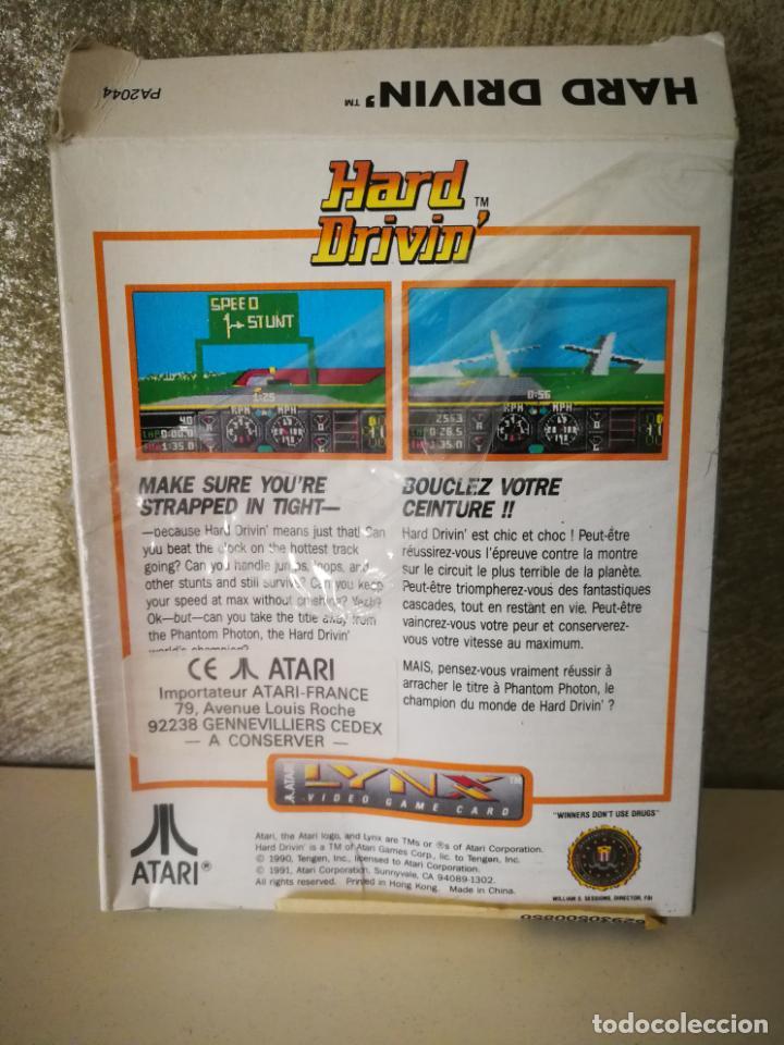 Videojuegos y Consolas: HARD DRIVIN ATARI LYNX EN CAJA Y COMPLETO - Foto 10 - 184108326