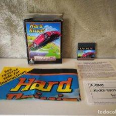 Videojuegos y Consolas: HARD DRIVIN ATARI LYNX EN CAJA Y COMPLETO. Lote 184108326