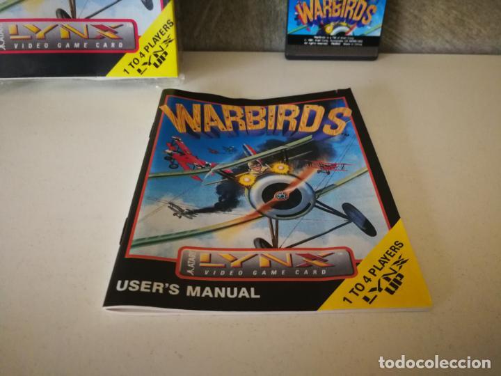 Videojuegos y Consolas: WARBIRDS ATARI LYNX EN CAJA Y COMPLETO - Foto 2 - 184108487
