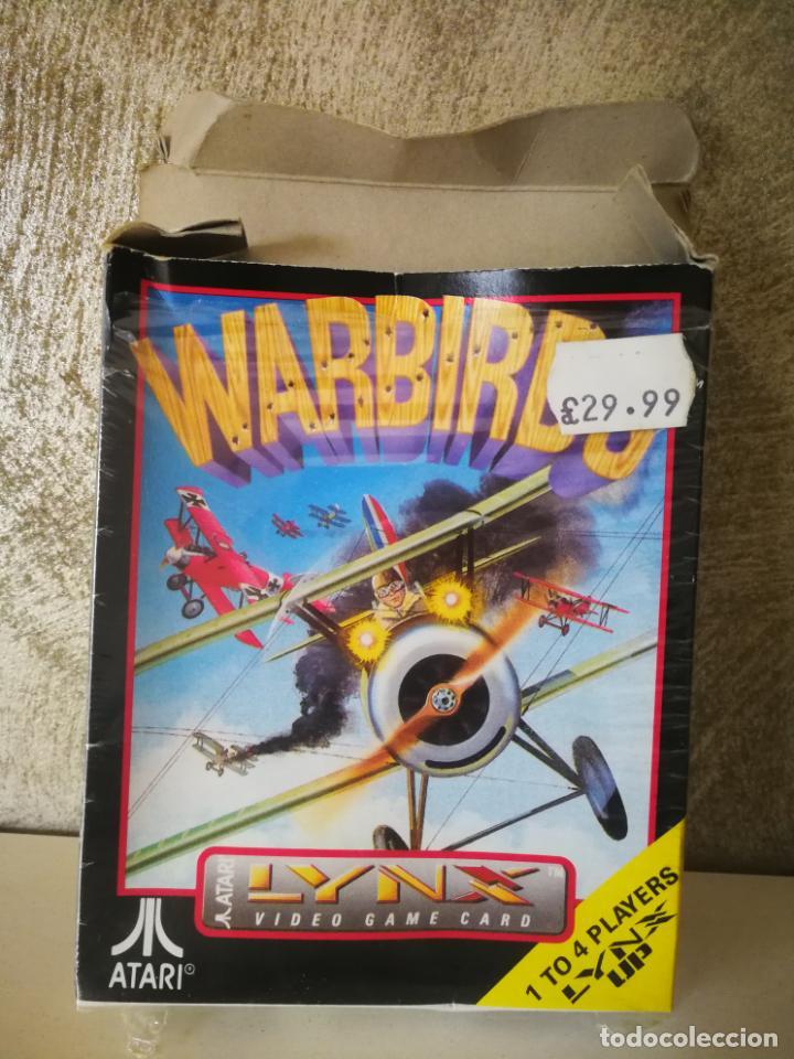 Videojuegos y Consolas: WARBIRDS ATARI LYNX EN CAJA Y COMPLETO - Foto 3 - 184108487
