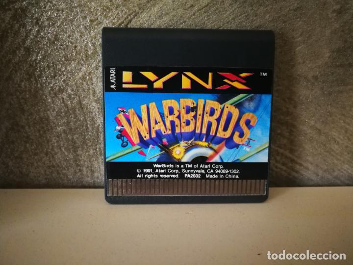 Videojuegos y Consolas: WARBIRDS ATARI LYNX EN CAJA Y COMPLETO - Foto 4 - 184108487