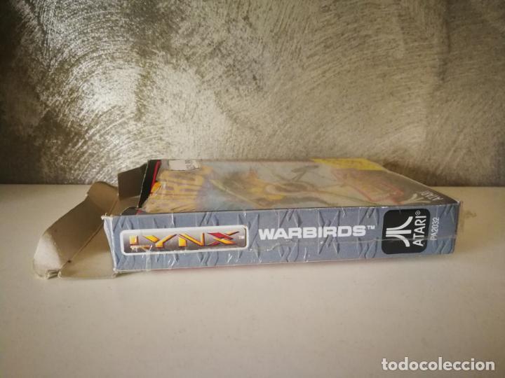 Videojuegos y Consolas: WARBIRDS ATARI LYNX EN CAJA Y COMPLETO - Foto 8 - 184108487