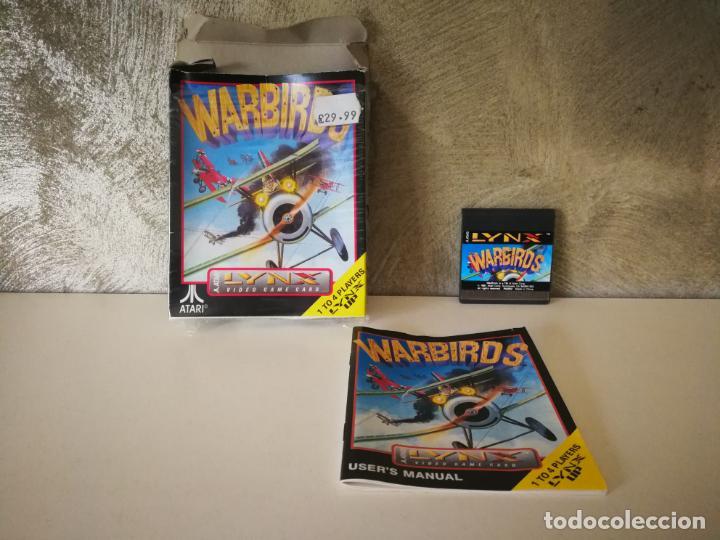 WARBIRDS ATARI LYNX EN CAJA Y COMPLETO (Juguetes - Videojuegos y Consolas - Atari)