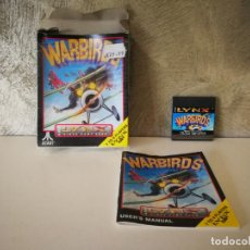 Videojuegos y Consolas: WARBIRDS ATARI LYNX EN CAJA Y COMPLETO. Lote 184108487