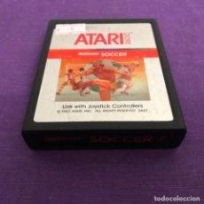 Videojuegos y Consolas: JUEGO REALSPORTS SOCCER SOLO CARTUCHO ATARI 2600. Lote 187555212