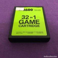 Videojuegos y Consolas: JUEGO 32 IN 1 SOLO CARTUCHO ATARI 2600. Lote 187555216