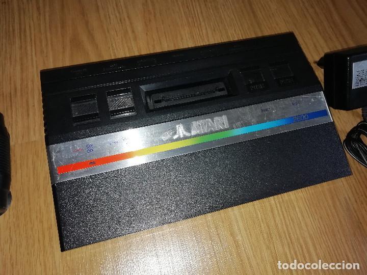 Videojuegos y Consolas: CONSOLA ATARI 2600 JR PAL CON MANDO Y JUEGO. PROBADA Y FUNCIONANDO - Foto 3 - 187997556