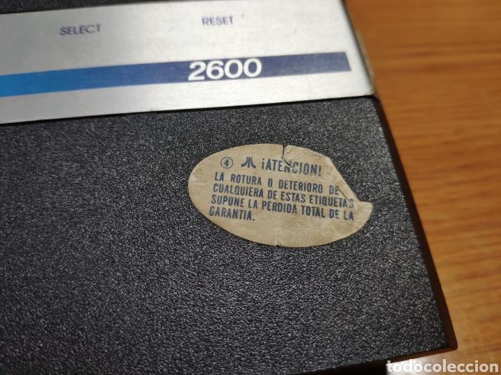 Videojuegos y Consolas: Antigua consola Atari 2600 mandos transformador acoplador - Foto 3 - 189197803
