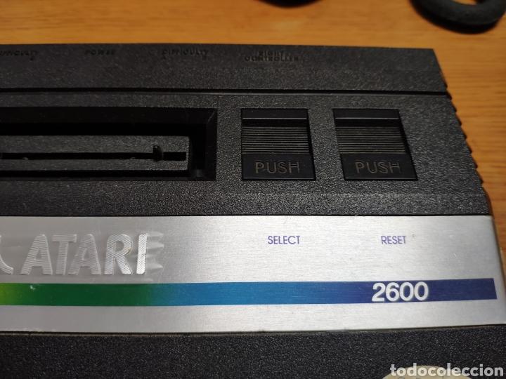 Videojuegos y Consolas: Antigua consola Atari 2600 mandos transformador acoplador - Foto 4 - 189197803