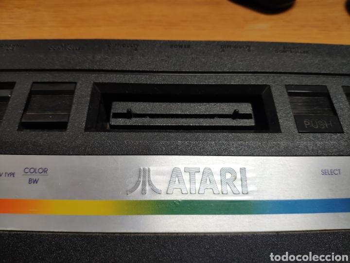 Videojuegos y Consolas: Antigua consola Atari 2600 mandos transformador acoplador - Foto 5 - 189197803