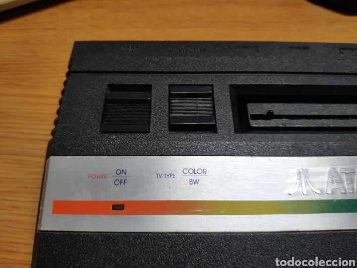 Videojuegos y Consolas: Antigua consola Atari 2600 mandos transformador acoplador - Foto 6 - 189197803