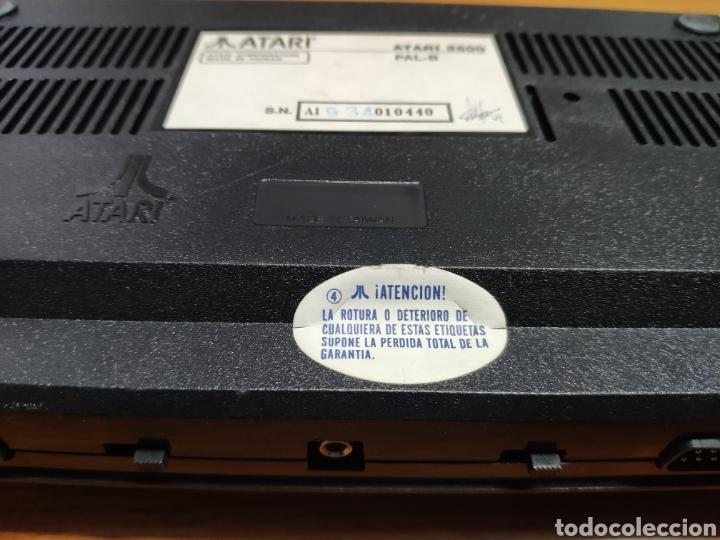 Videojuegos y Consolas: Antigua consola Atari 2600 mandos transformador acoplador - Foto 7 - 189197803