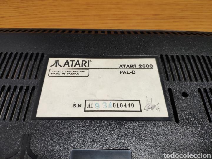 Videojuegos y Consolas: Antigua consola Atari 2600 mandos transformador acoplador - Foto 8 - 189197803