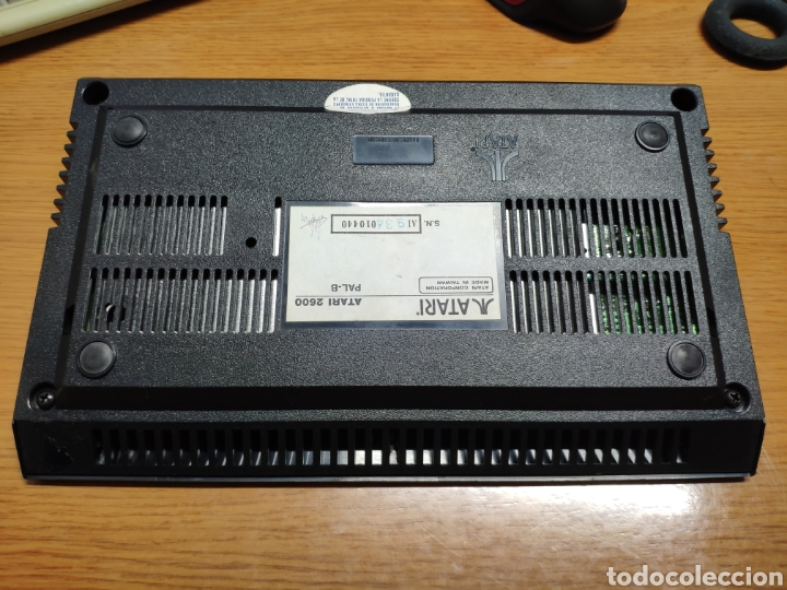 Videojuegos y Consolas: Antigua consola Atari 2600 mandos transformador acoplador - Foto 10 - 189197803