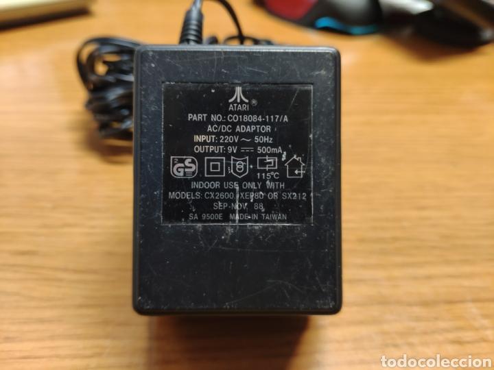 Videojuegos y Consolas: Antigua consola Atari 2600 mandos transformador acoplador - Foto 15 - 189197803