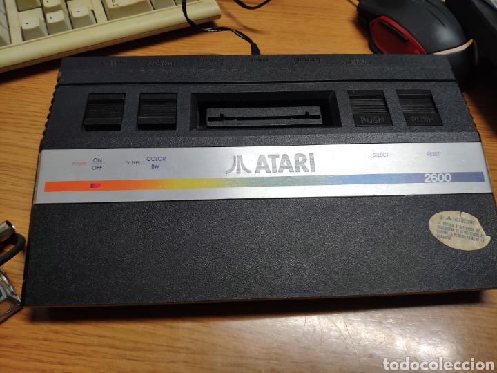 Videojuegos y Consolas: Antigua consola Atari 2600 mandos transformador acoplador - Foto 17 - 189197803