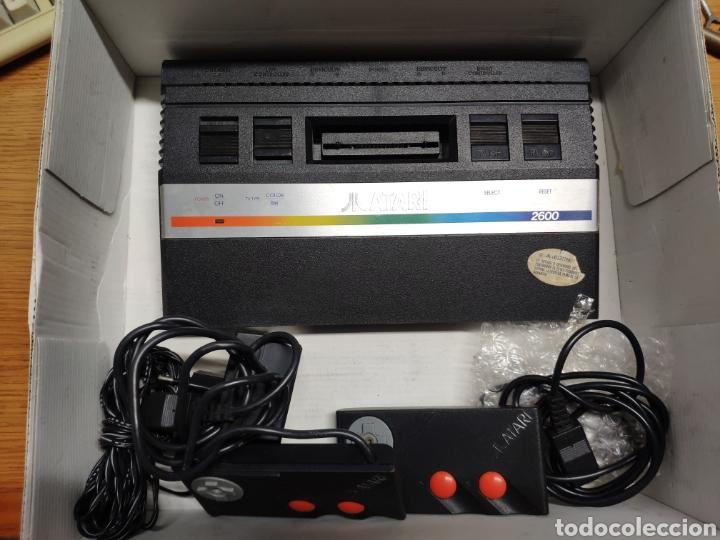 ANTIGUA CONSOLA ATARI 2600 MANDOS TRANSFORMADOR ACOPLADOR (Juguetes - Videojuegos y Consolas - Atari)