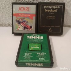 Videojuegos y Consolas: LOTE JUEGOS ATARI. Lote 189454667
