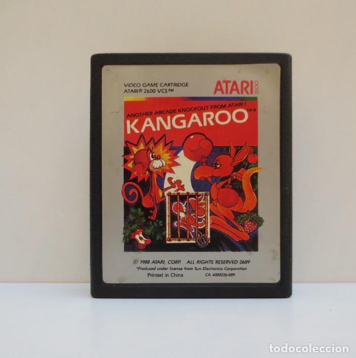 CARTUCHO KANGAROO - PARA ATARI 2600- AÑO 1988 (Juguetes - Videojuegos y Consolas - Atari)