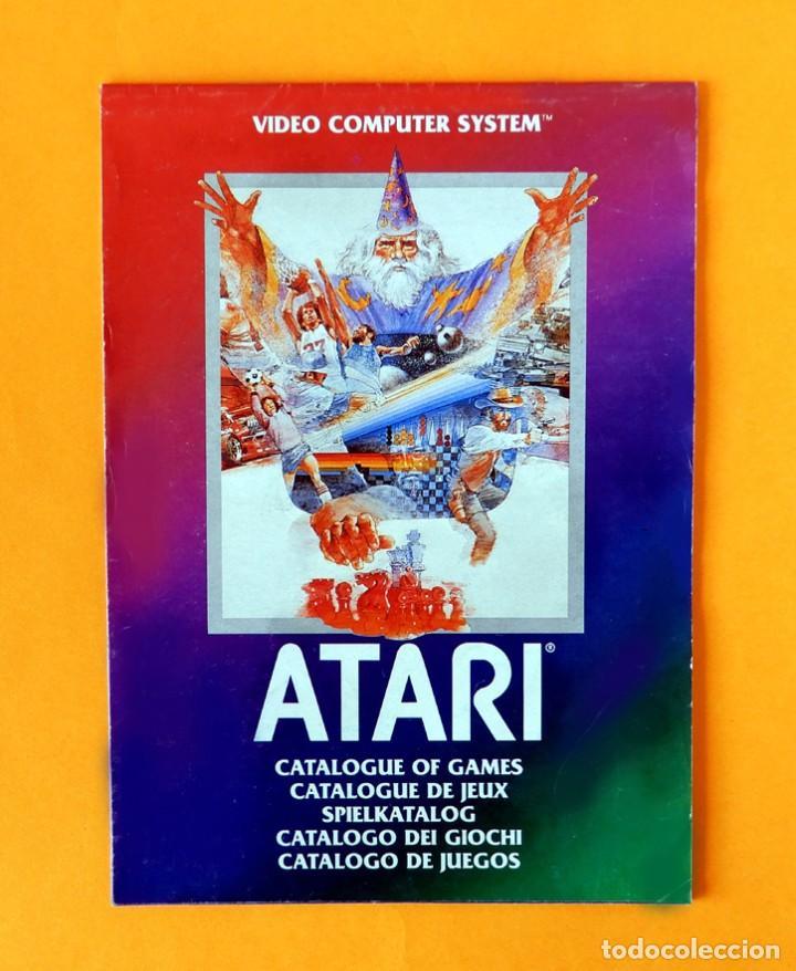 ATARI - CATÁLOGO DE JUEGOS Nº 1 - VIDEO COMPUTER SYSTEM - 1982 - ORIGINAL (Juguetes - Videojuegos y Consolas - Atari)
