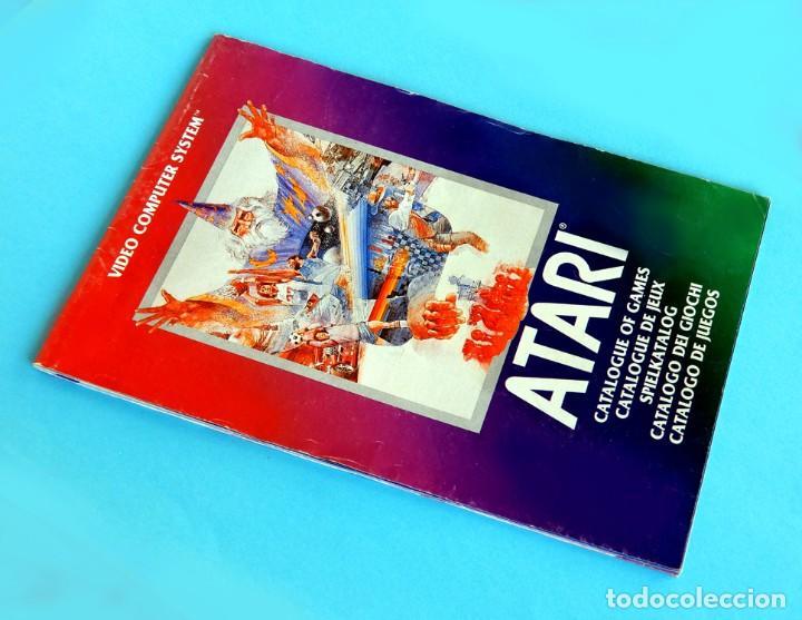 Videojuegos y Consolas: ATARI - CATÁLOGO DE JUEGOS Nº 1 - VIDEO COMPUTER SYSTEM - 1982 - ORIGINAL - Foto 2 - 191474235