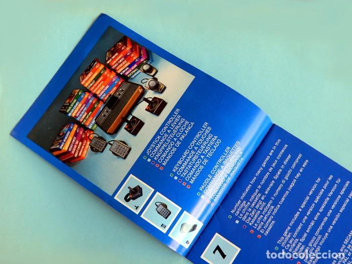 Videojuegos y Consolas: ATARI - CATÁLOGO DE JUEGOS Nº 1 - VIDEO COMPUTER SYSTEM - 1982 - ORIGINAL - Foto 3 - 191474235
