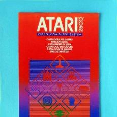 Videojuegos y Consolas: ATARI 2600 - CATÁLOGO DE JUEGOS, Nº 2 - VIDEO COMPUTER SYSTEM, 1982 - CX 2600 AP - NUEVO-ORIGINAL. Lote 191475202