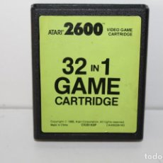 Videogiochi e Consoli: JUEGO ATARI 2600 - 32 IN 1 - VIDEO GAME CARTRIDGE . Lote 191684293